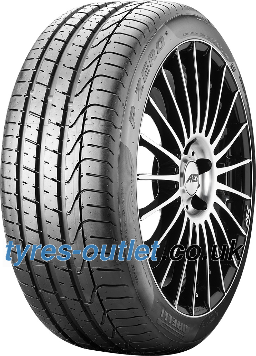 Pirelli P Zero ( 245/45 R18 96Y AO, with rim protection (MFS) )