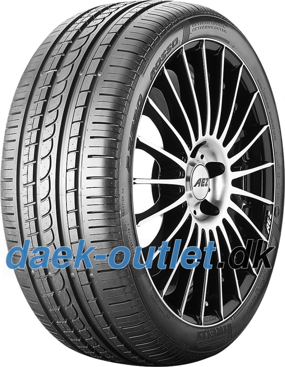 Pirelli P Zero Rosso Asimmetrico ( 255/45 R18 99Y MO, med fælgbeskyttelse (MFS) )
