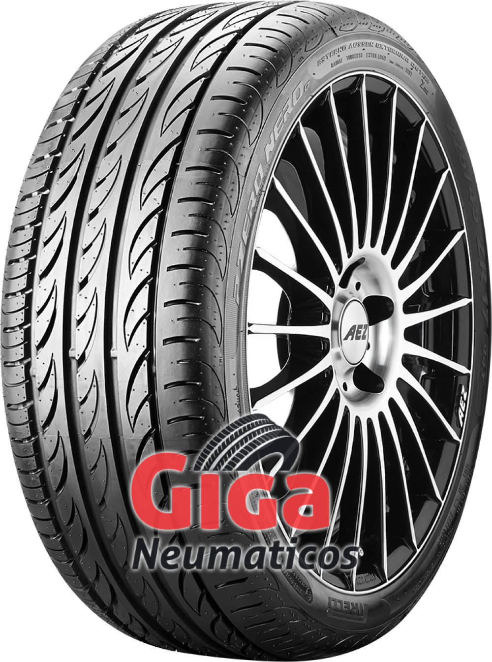 Pirelli P Zero Nero GT ( 195/40 ZR17 81W XL con protector de llanta (MFS) )