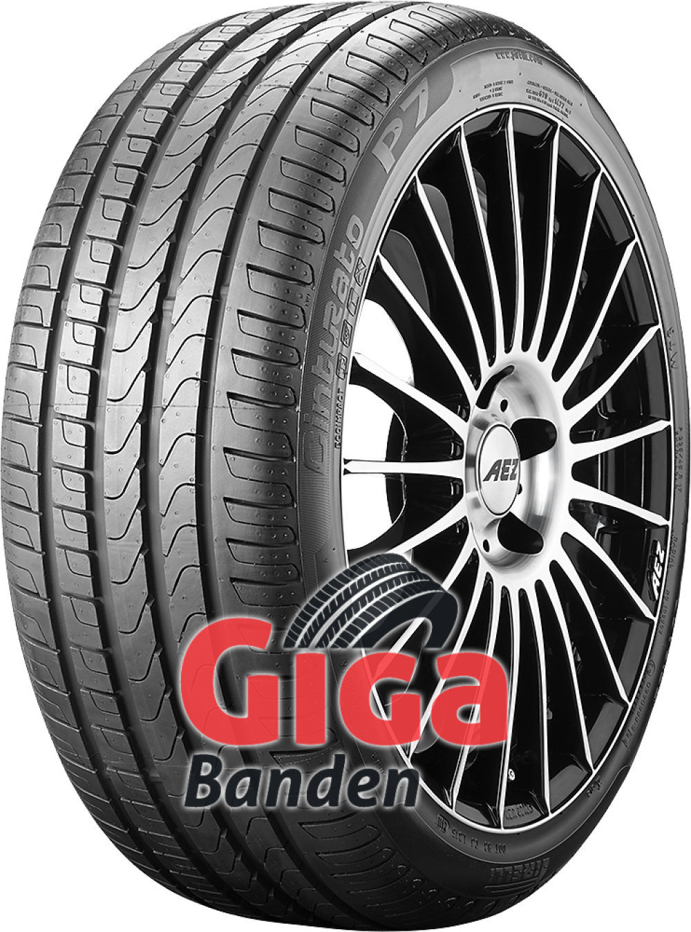 Pirelli Cinturato P7 runflat ( 205/50 R17 89V *, ECOIMPACT, met velgrandbescherming (MFS), runflat )