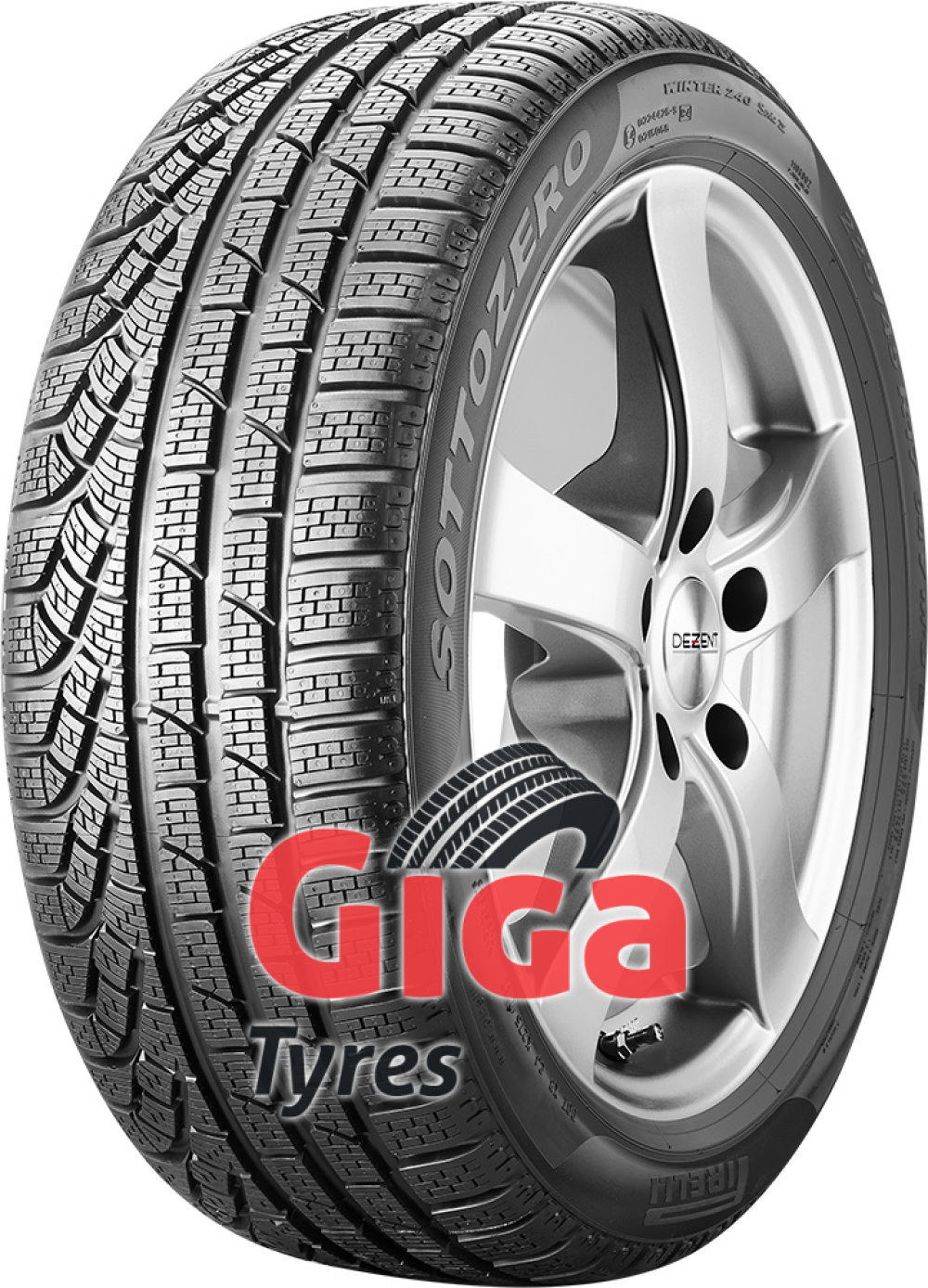 Pirelli W 240 SottoZero S2 ( 255/40 R19 100V XL , *, with rim protection (MFS) )