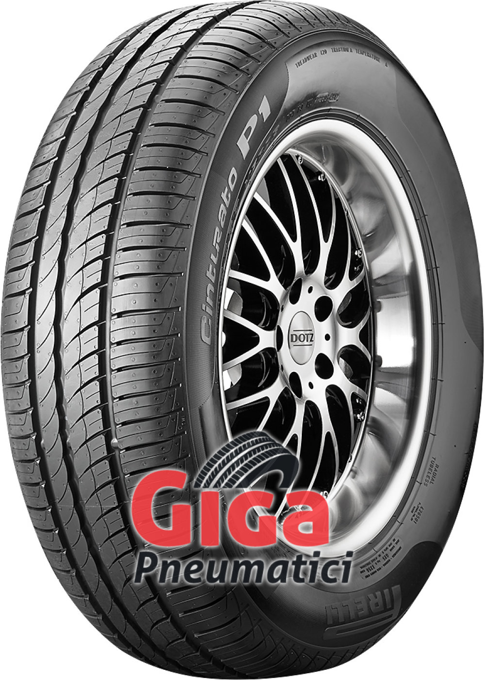 Pirelli Cinturato P1 Verde ( 195/55 R15 85V ECOIMPACT )