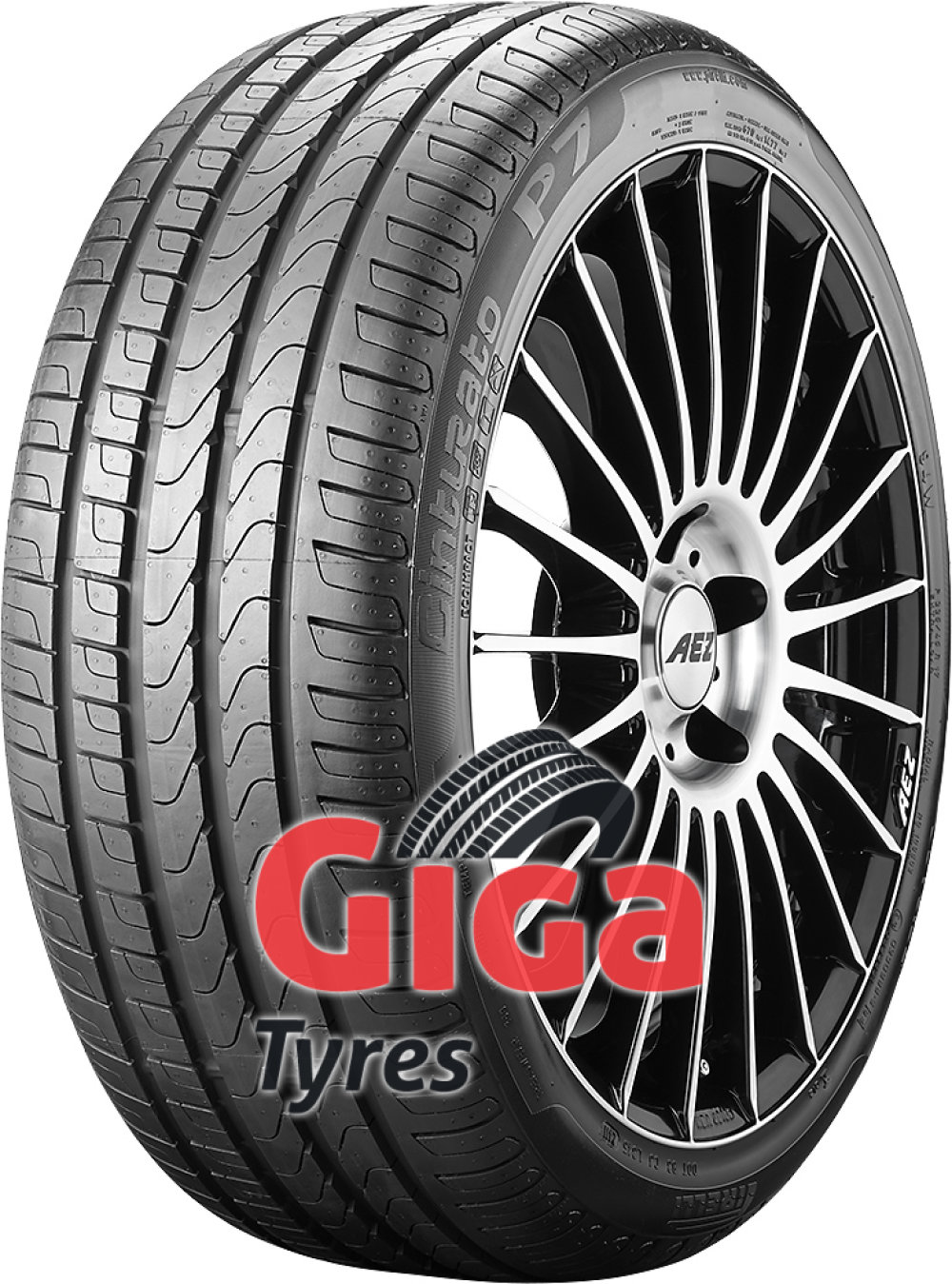 Pirelli Cinturato P7 runflat ( 225/45 R17 91W *, ECOIMPACT, with rim protection (MFS), runflat )