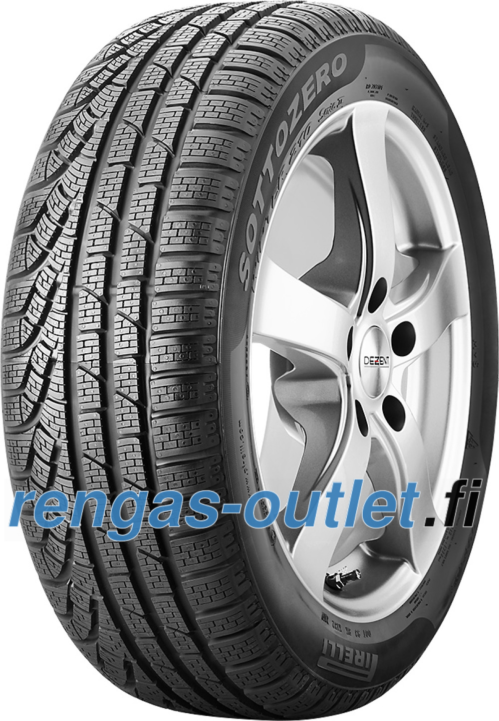 Pirelli W 210 SottoZero S2 runflat ( 205/55 R17 91H *, vannesuojalla (MFS), runflat )