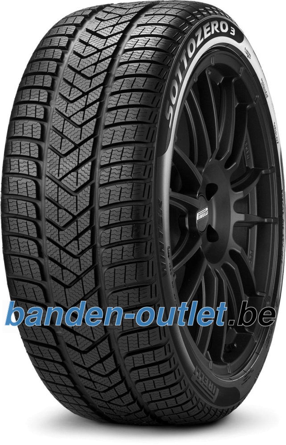 Pirelli Winter SottoZero 3 ( 255/30 R20 92W XL L, met velgrandbescherming (MFS) )