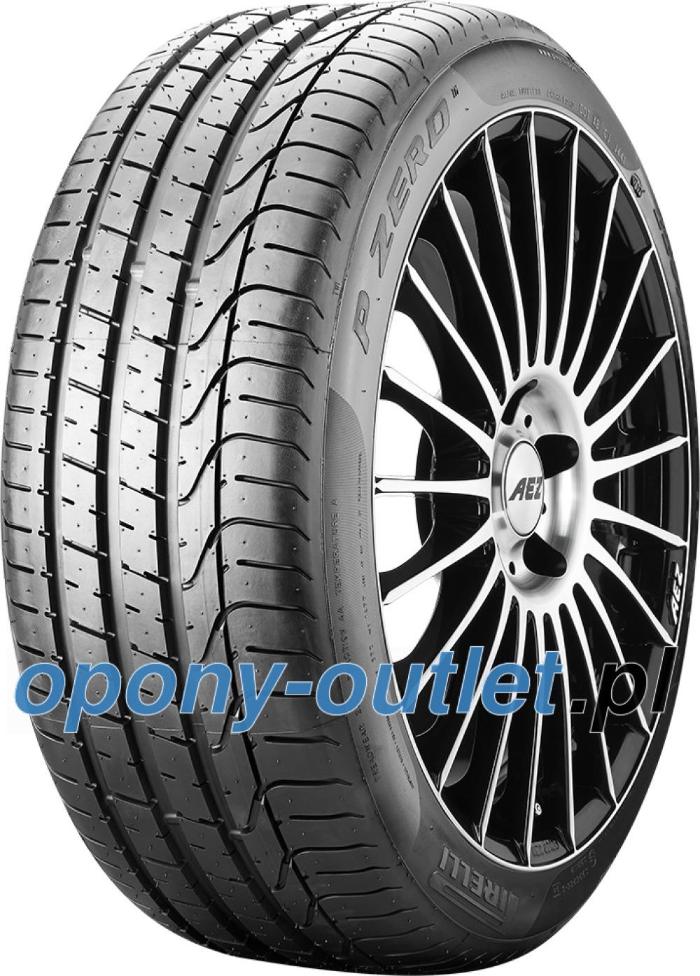 Pirelli P Zero ( 265/40 ZR19 (102Y) XL *, osłona felgi (MFS) )