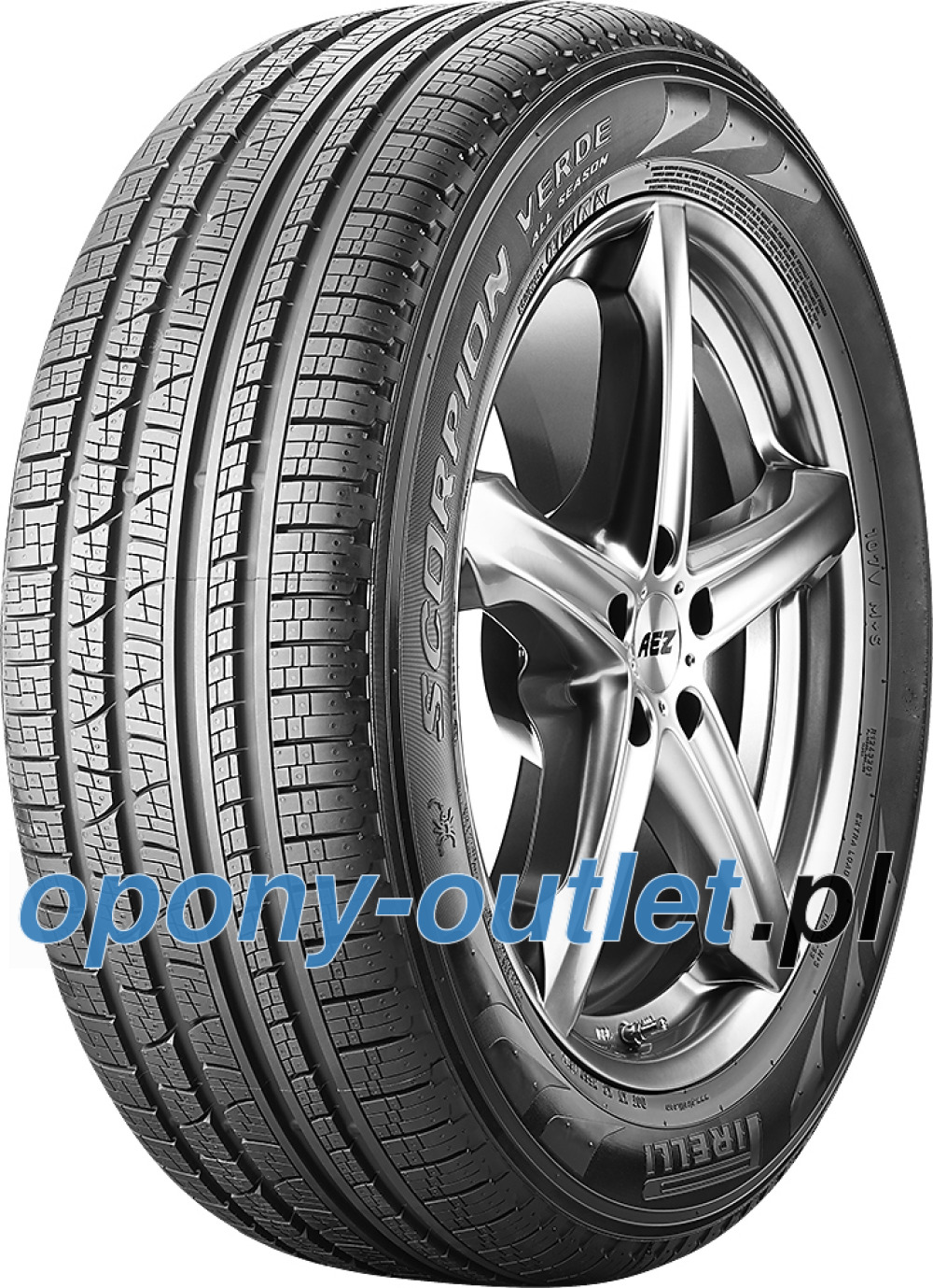 Pirelli Scorpion Verde All-Season ( 275/40 R21 107V XL VOL, PNCS )
