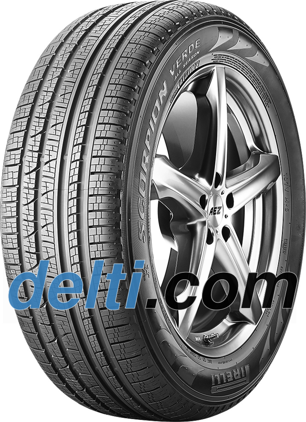 Pirelli Scorpion Verde All-Season ( 235/65 R19 109V XL ECOIMPACT, LR, with rim protection (MFS) )