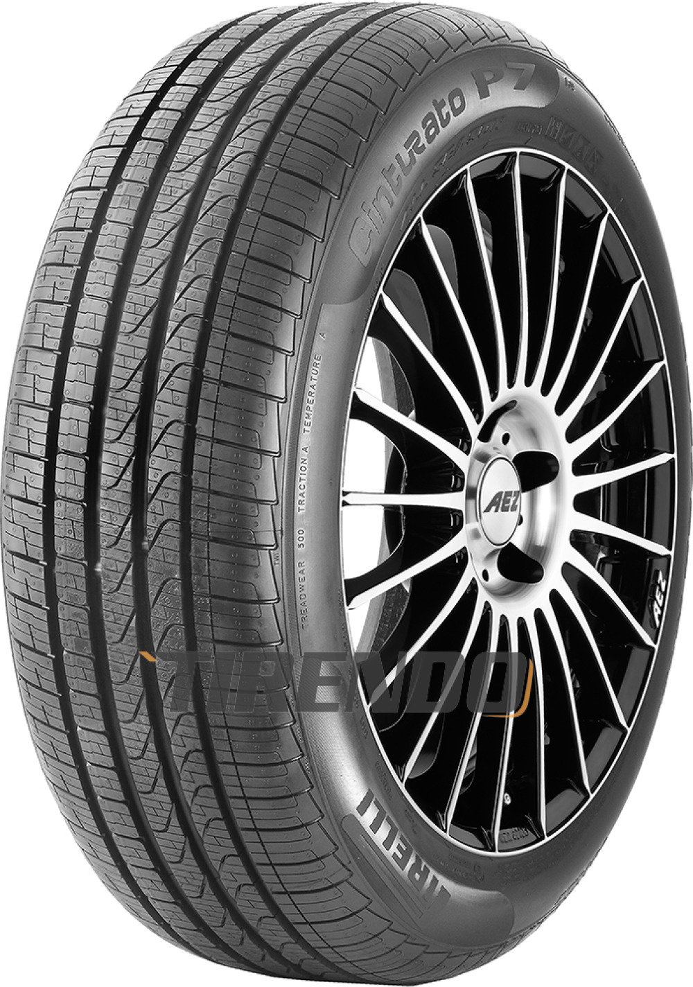 Image of 1x Pirelli Cinturato P7 All Season 225/55R17 97H *