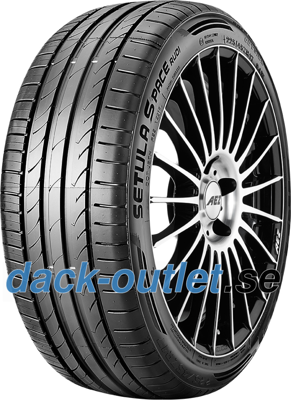 Rotalla Setula S-Pace RUO1 ( 235/45 R18 98W XL med fälg skyddslist (MFS) )