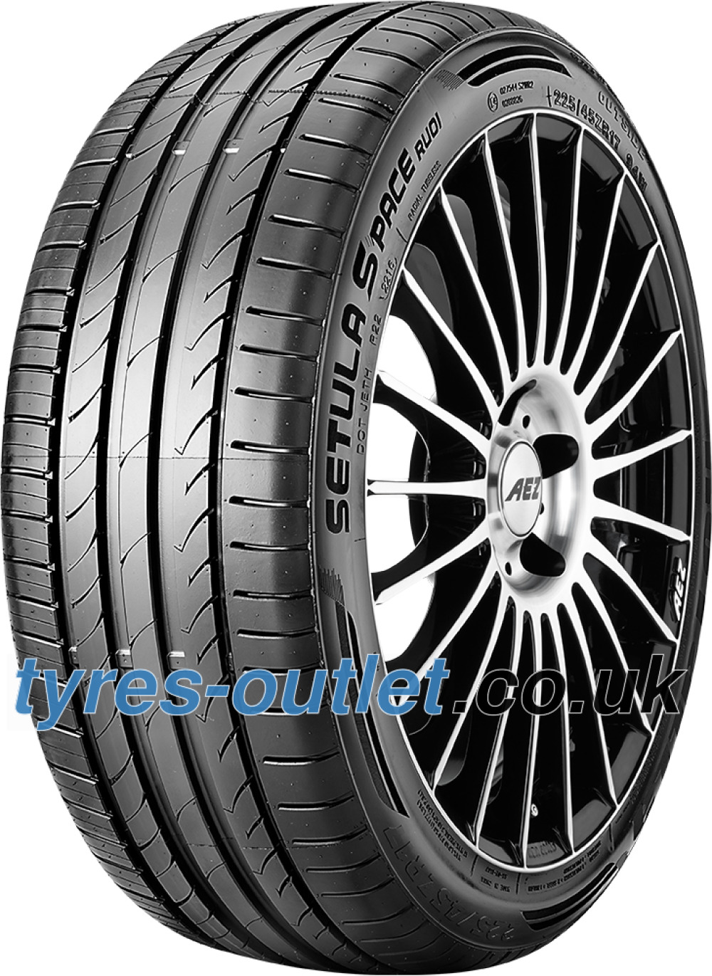 Rotalla Setula S-Pace RUO1 ( 245/45 R18 100Y XL with rim protection (MFS) )