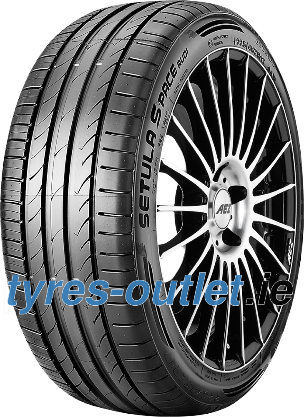 Rotalla Setula S-Pace RUO1 ( 215/40 R16 86W XL with rim protection (MFS) )