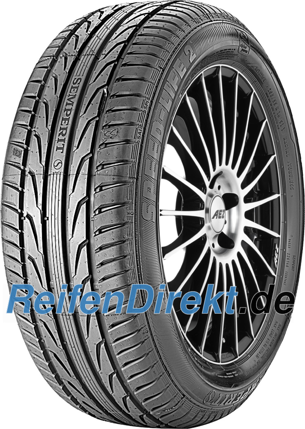 Semperit Speed-Life 2 ( 255/35 R18 94Y XL mit Felgenrippe )