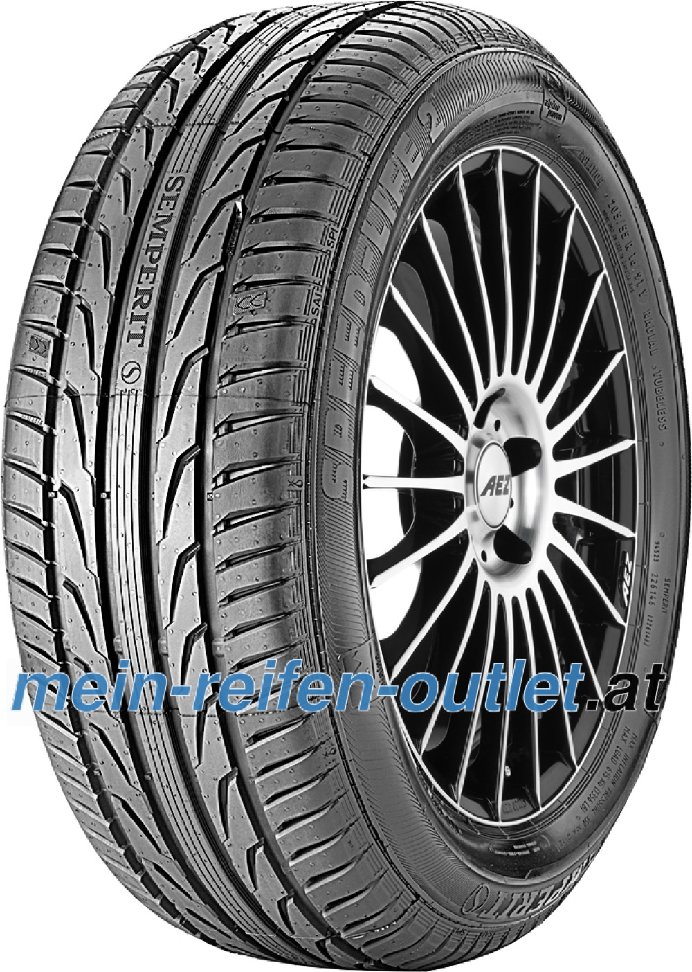 Semperit Speed-Life 2 ( 205/50 R17 89H mit Felgenrippe )
