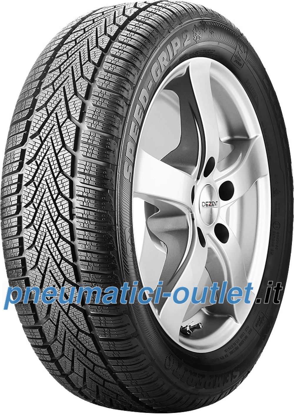 Semperit Speed-Grip 2 ( 215/50 R17 95V XL con bordo di protezione )