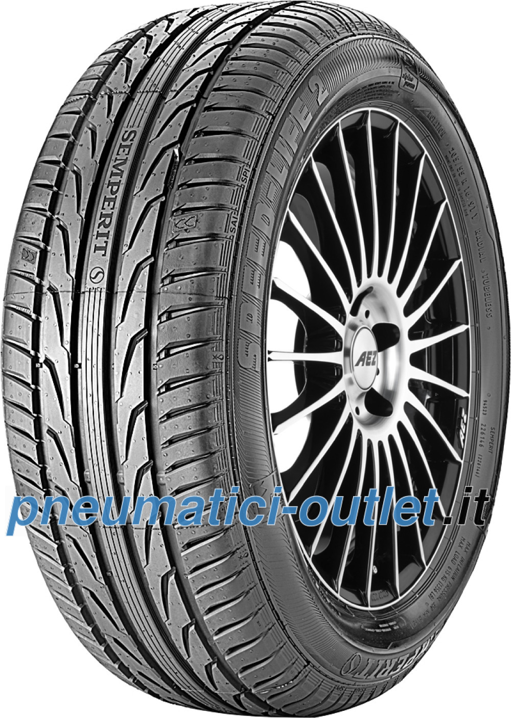 Semperit Speed-Life 2 ( 245/45 R17 95Y con bordo di protezione )