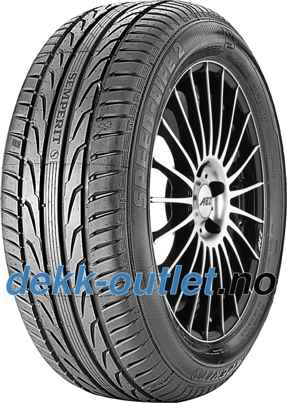 Semperit Speed-Life 2 ( 235/45 R18 98Y XL med felgkant )