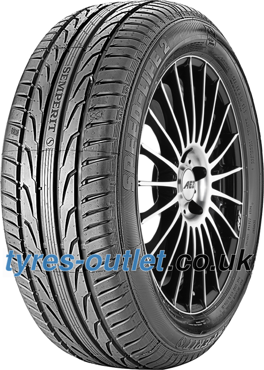 Semperit Speed-Life 2 ( 195/45 R16 84V XL with kerbing rib )