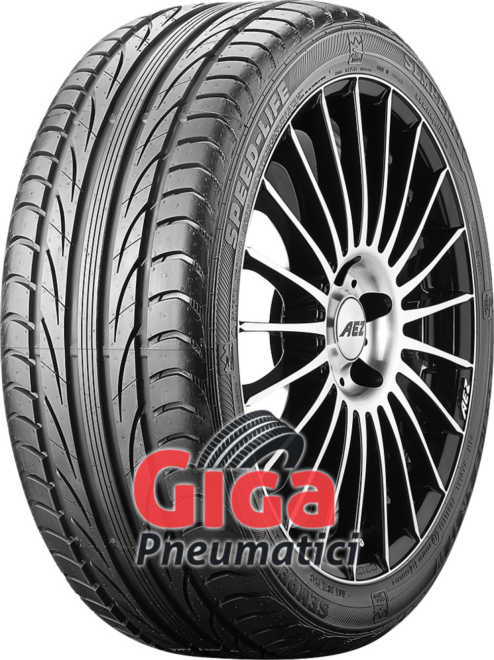 Semperit Speed-Life ( 195/45 R16 80V con bordo di protezione )