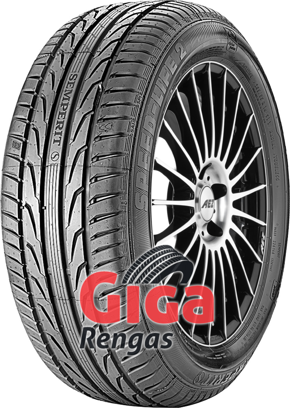 Semperit Speed-Life 2 ( 225/45 R17 94V XL vannealueen ripalla  )