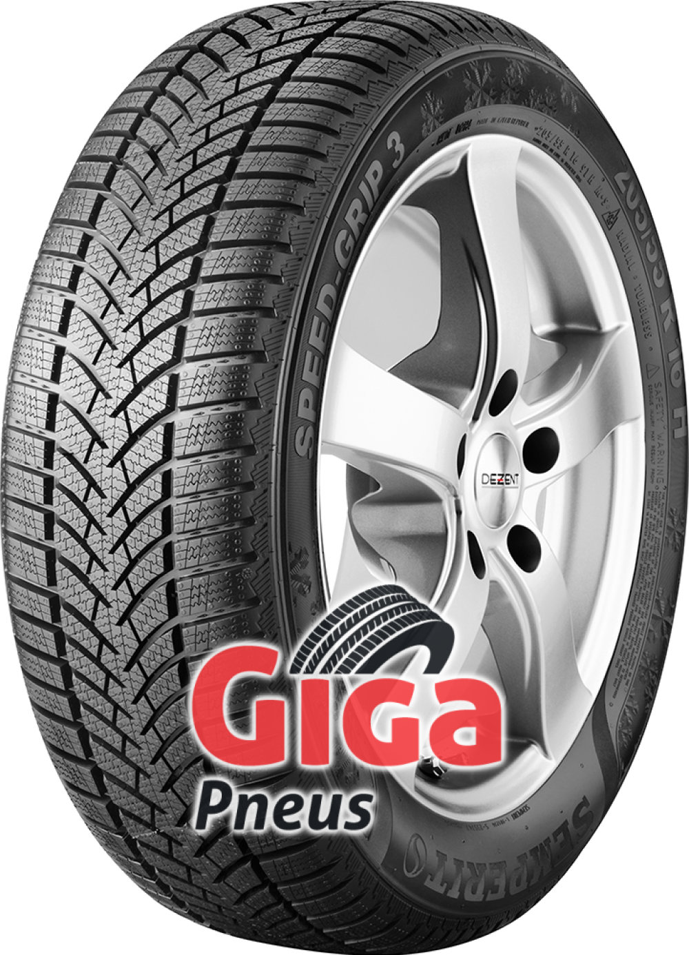 Semperit Speed-Grip 3 ( 235/45 R17 97V XL , com bordo da jante saliente )