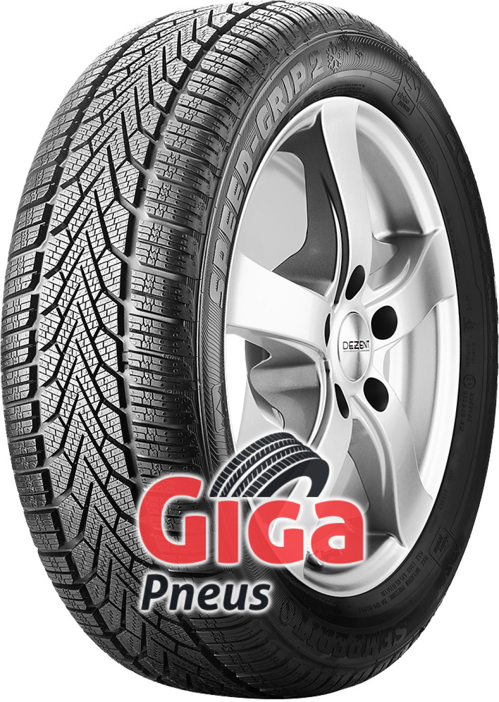 Semperit SPEED-GRIP 2 ( 235/60 R18 107H XL com bordo da jante saliente, SUV )