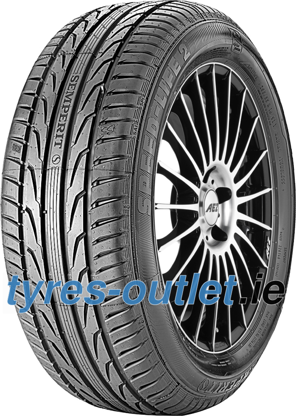 Semperit Speed-Life 2 ( 215/45 R17 87Y with kerbing rib )