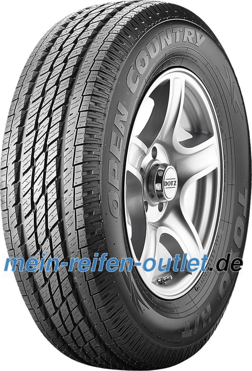 Toyo Open Country H/T ( LT265/75 R16 119/116S 8PR OWL )