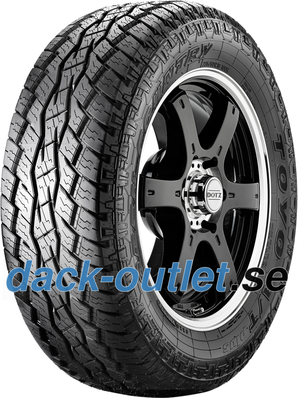 Toyo Open Country A/T+ ( 275/45 R20 110H XL , med fälg skyddslist (FSL) )