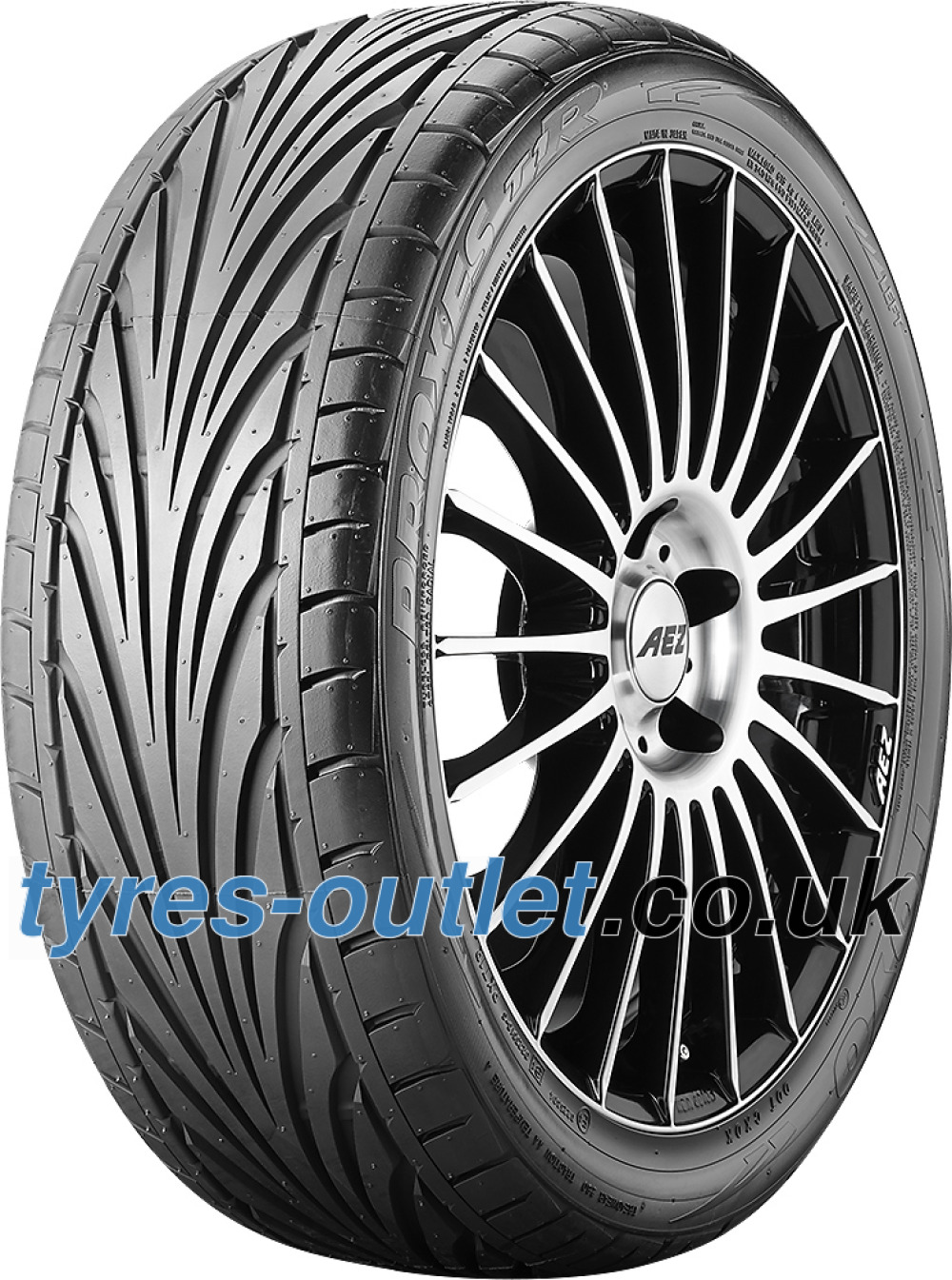 Toyo Proxes T1-R ( 215/45 R15 84V with rim protection ridge (FSL) )