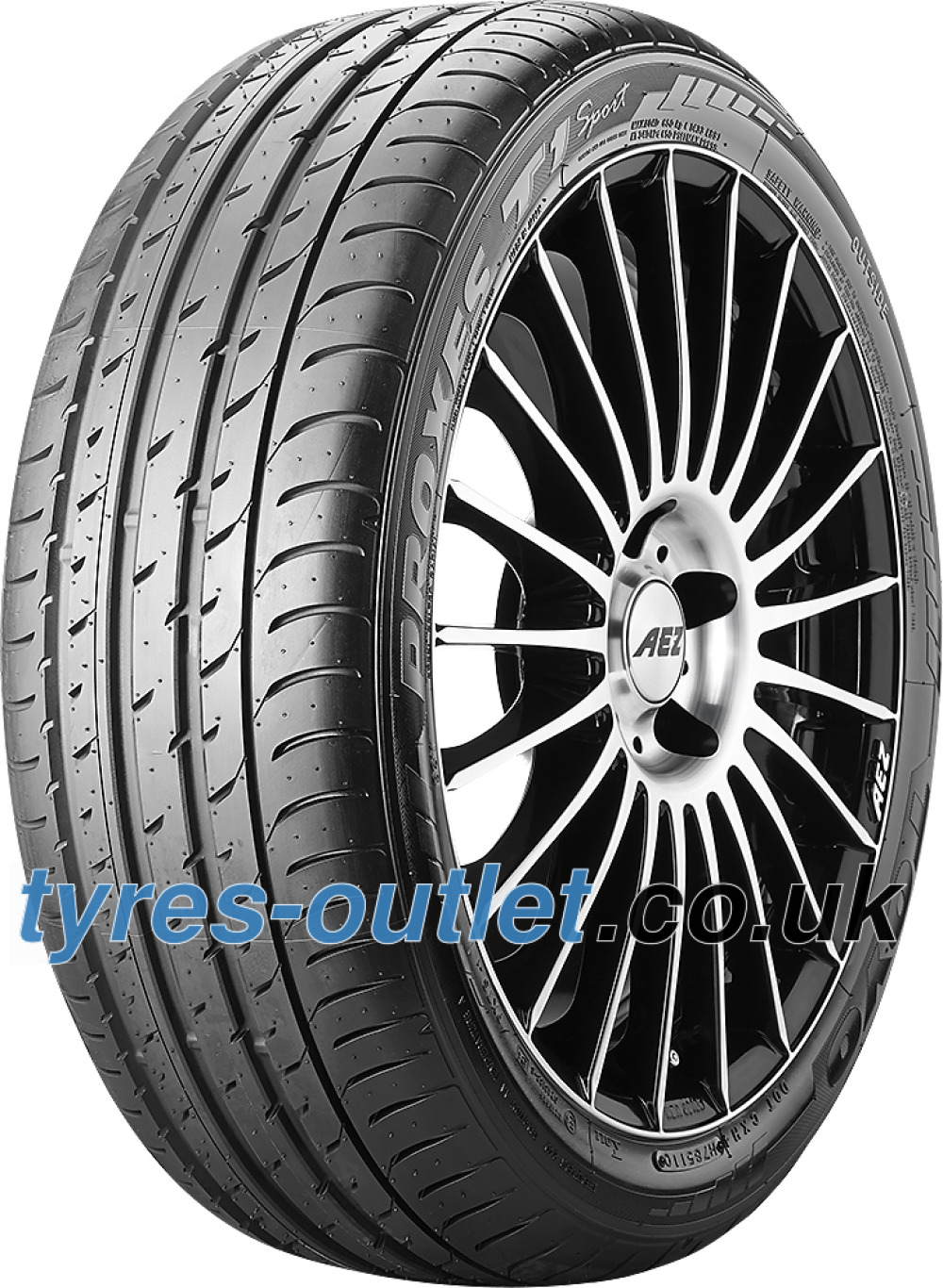 Toyo Proxes T1 Sport ( 275/35 ZR19 (100Y) XL with rim protection ridge (FSL) )