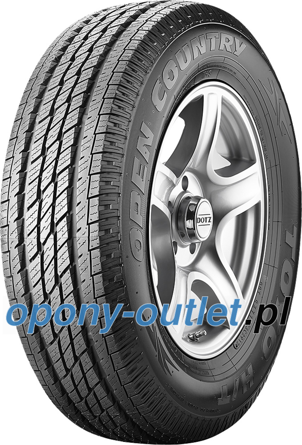 Toyo Open Country H/T ( 215/70 R16 100H )
