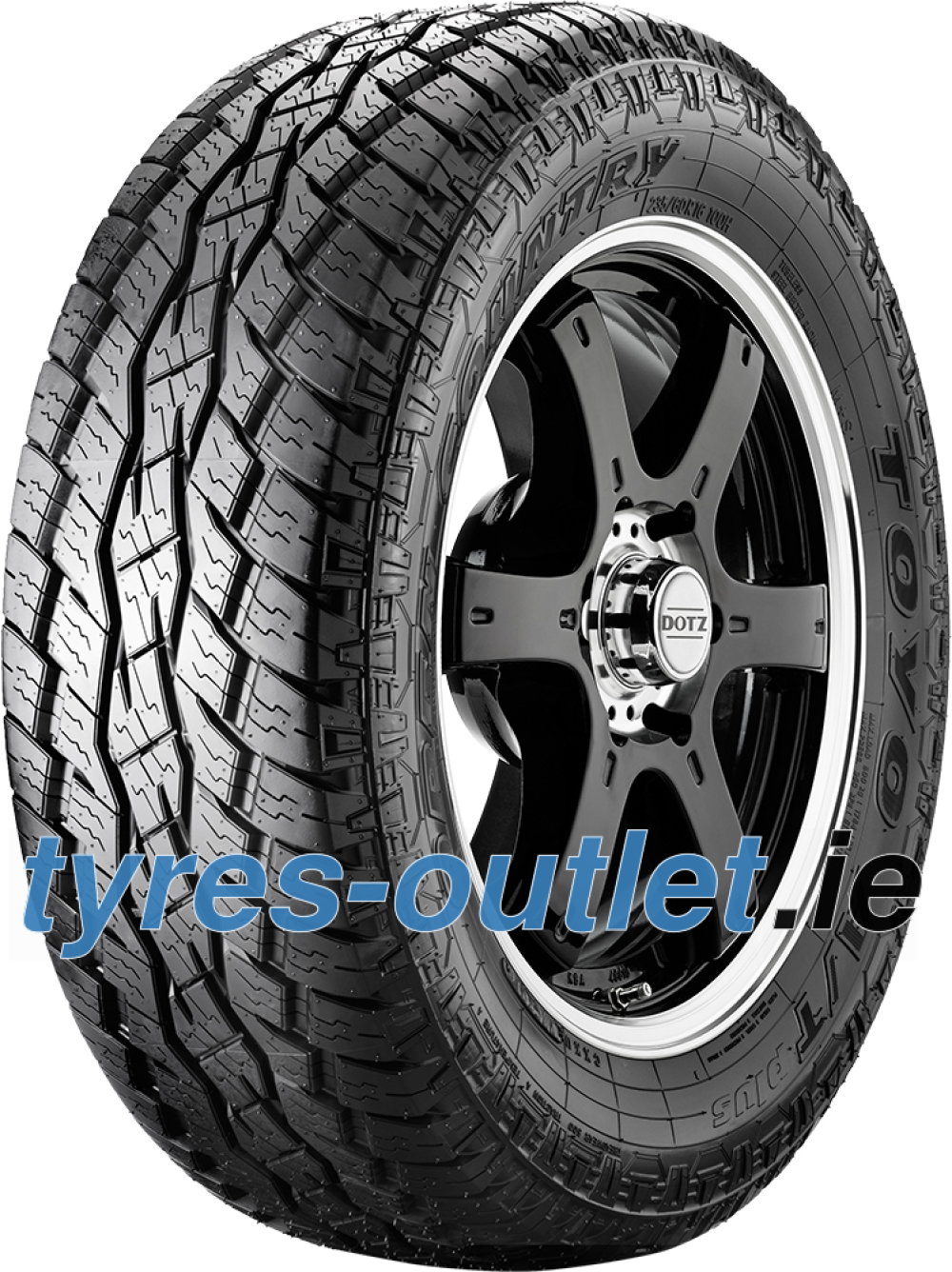 Toyo Open Country A/T+ ( 255/55 R18 109H XL , with rim protection ridge (FSL) )