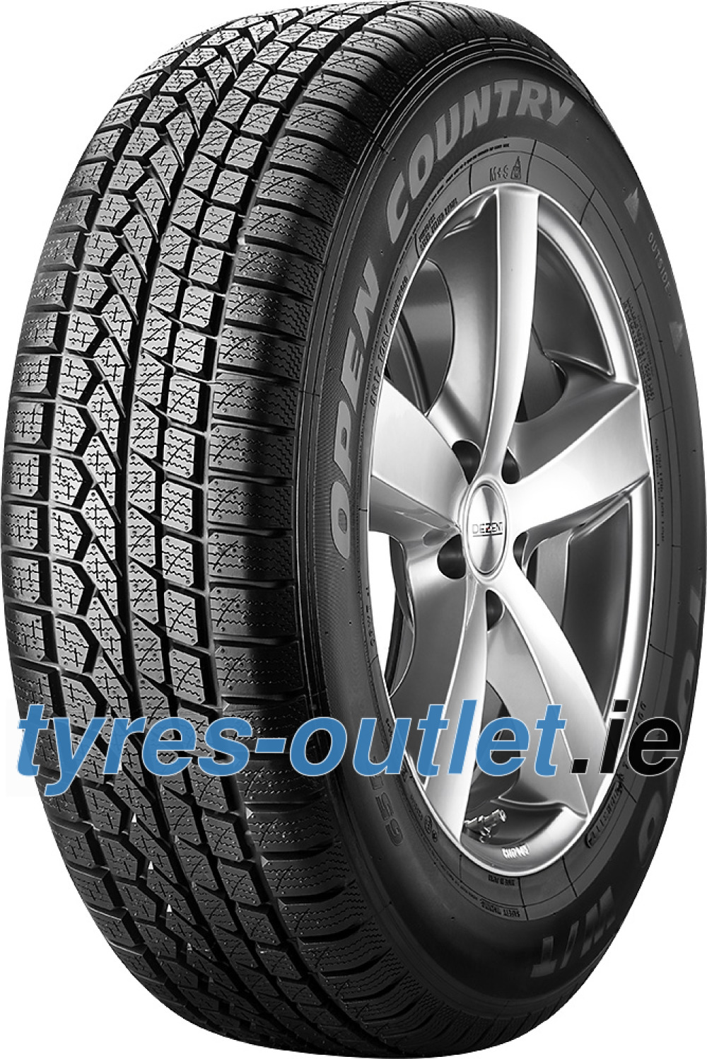 Toyo Open Country W/T ( 255/60 R17 106H , with rim protection ridge (FSL) )