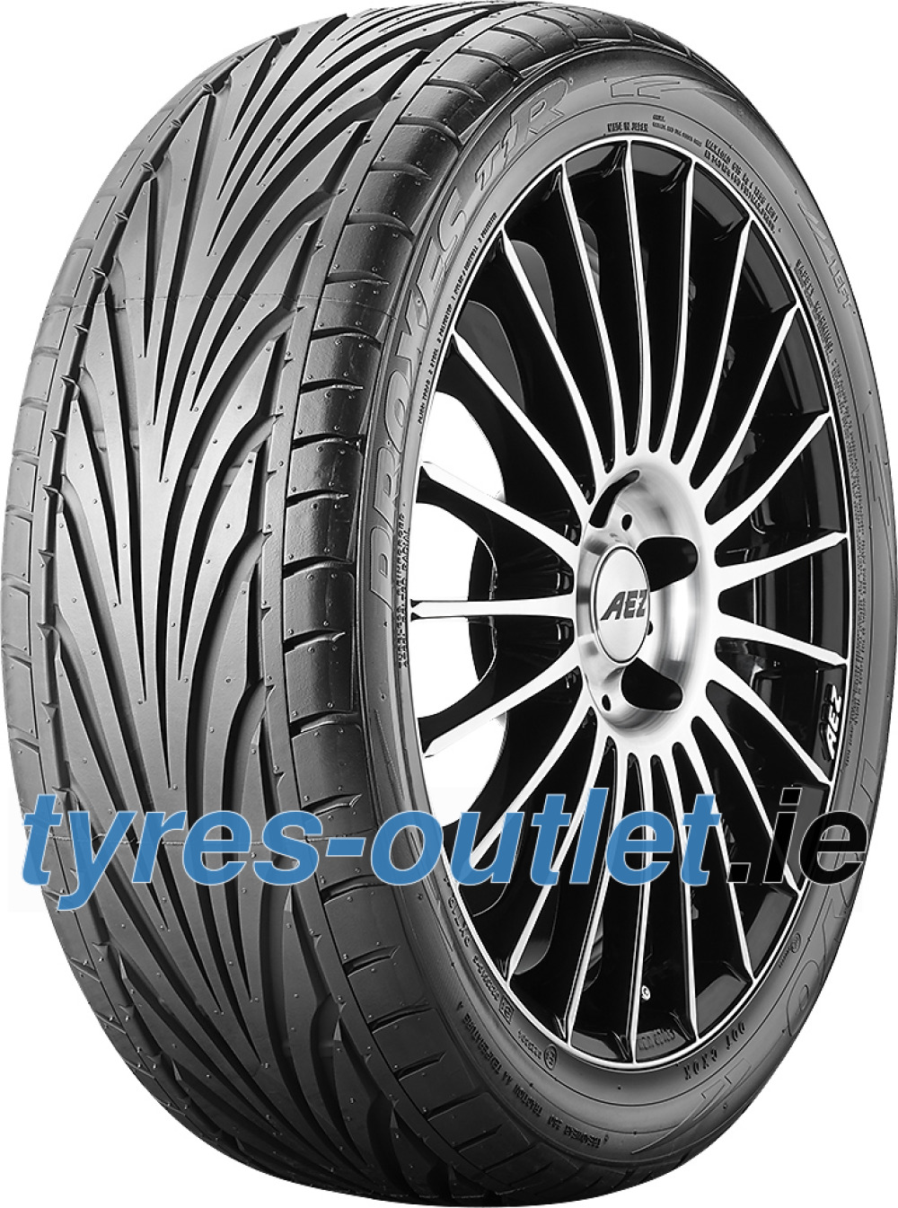 Toyo Proxes T1-R ( 195/55 R15 85V with rim protection ridge (FSL) )