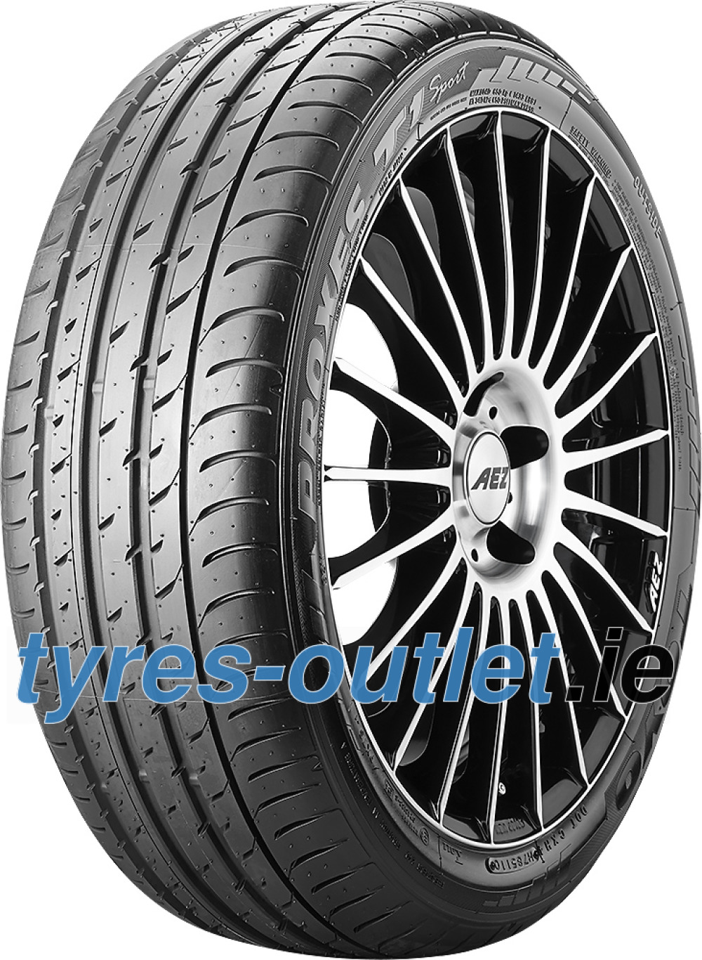 Toyo Proxes T1 Sport ( 255/35 R19 96Y XL AO, with rim protection ridge (FSL) )