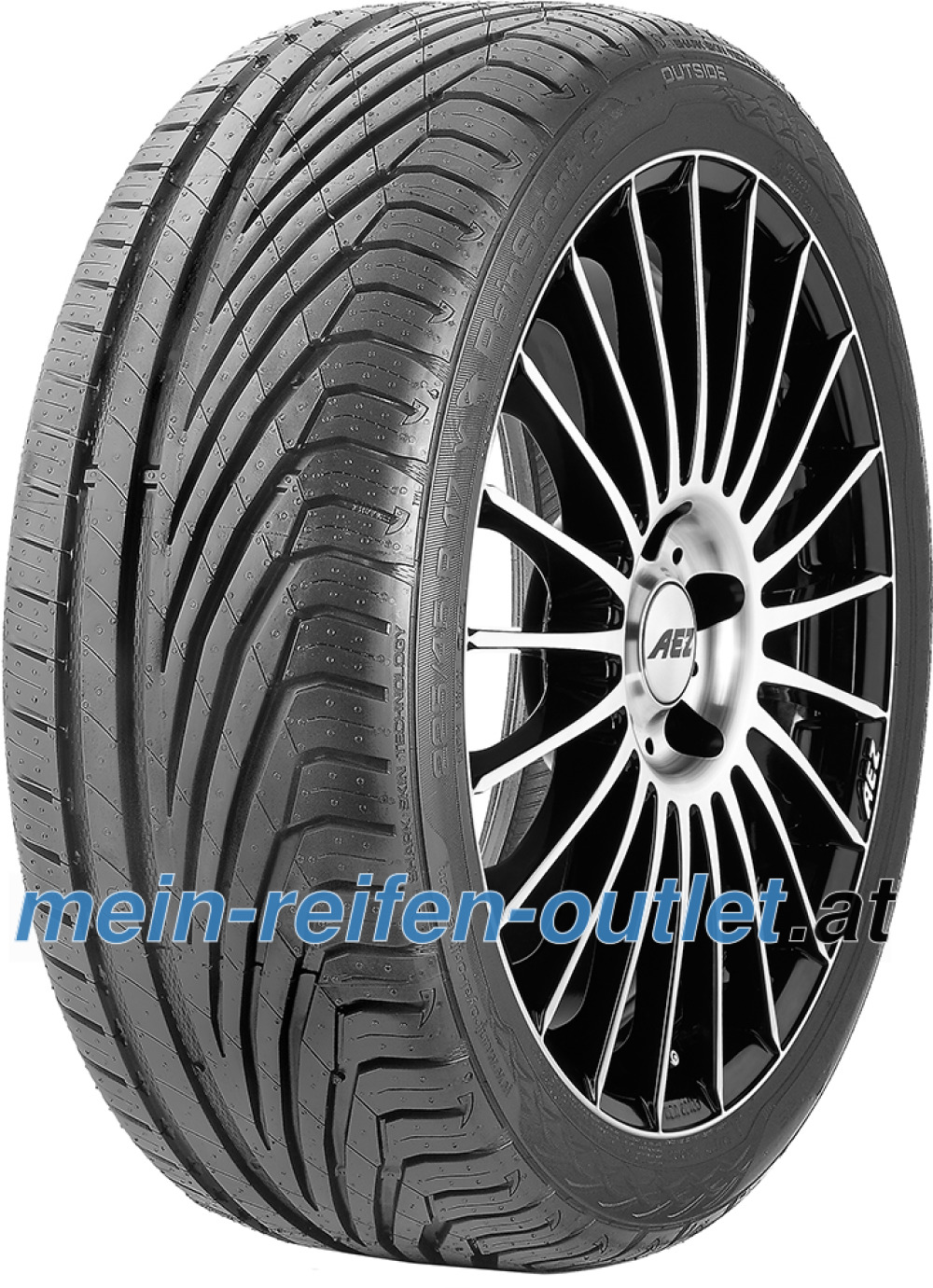 Uniroyal RainSport 3 ( 245/45 R17 99Y XL mit Felgenrippe )