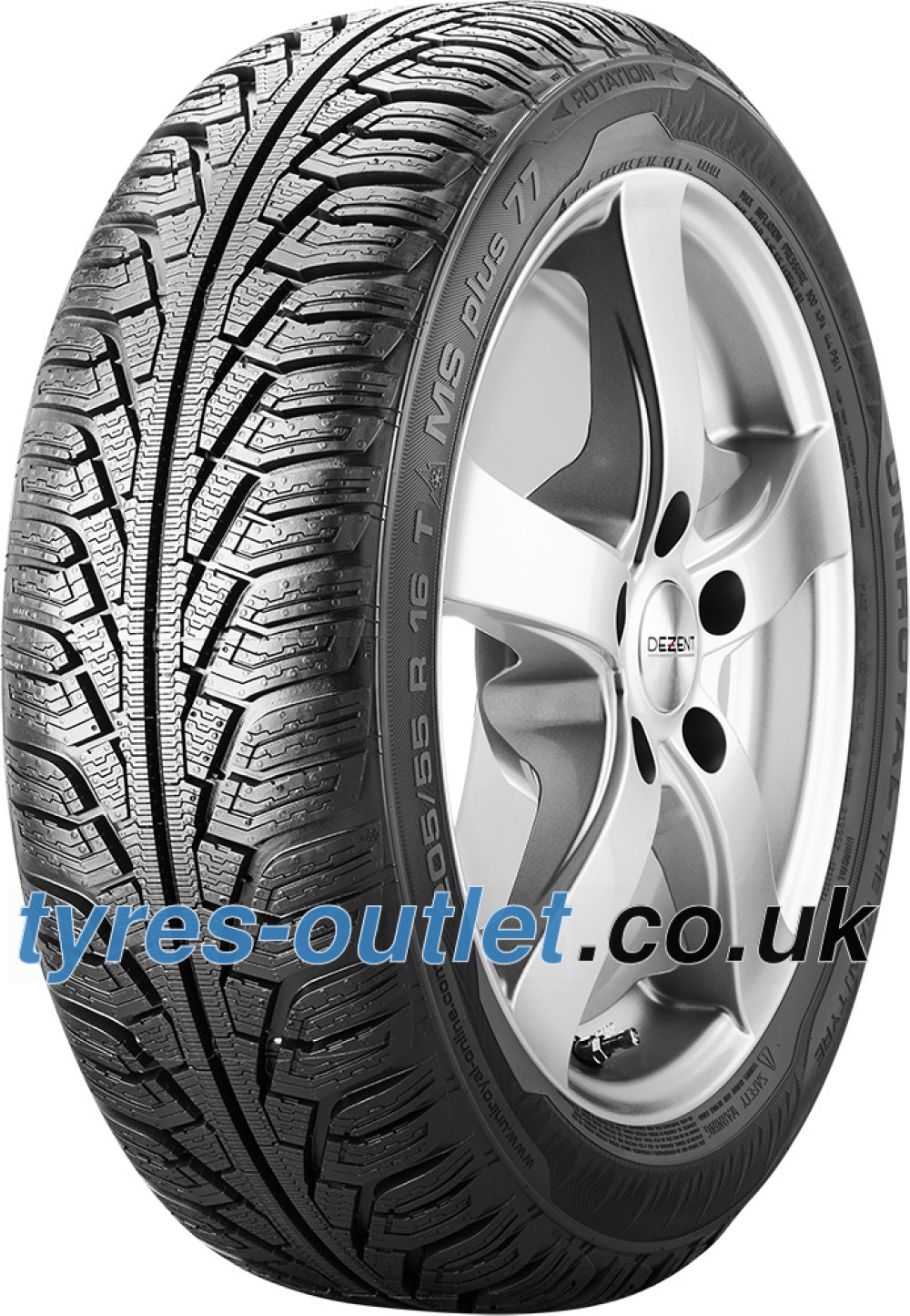 Uniroyal MS Plus 77 ( 205/70 R15 96T , with kerbing rib, SUV )