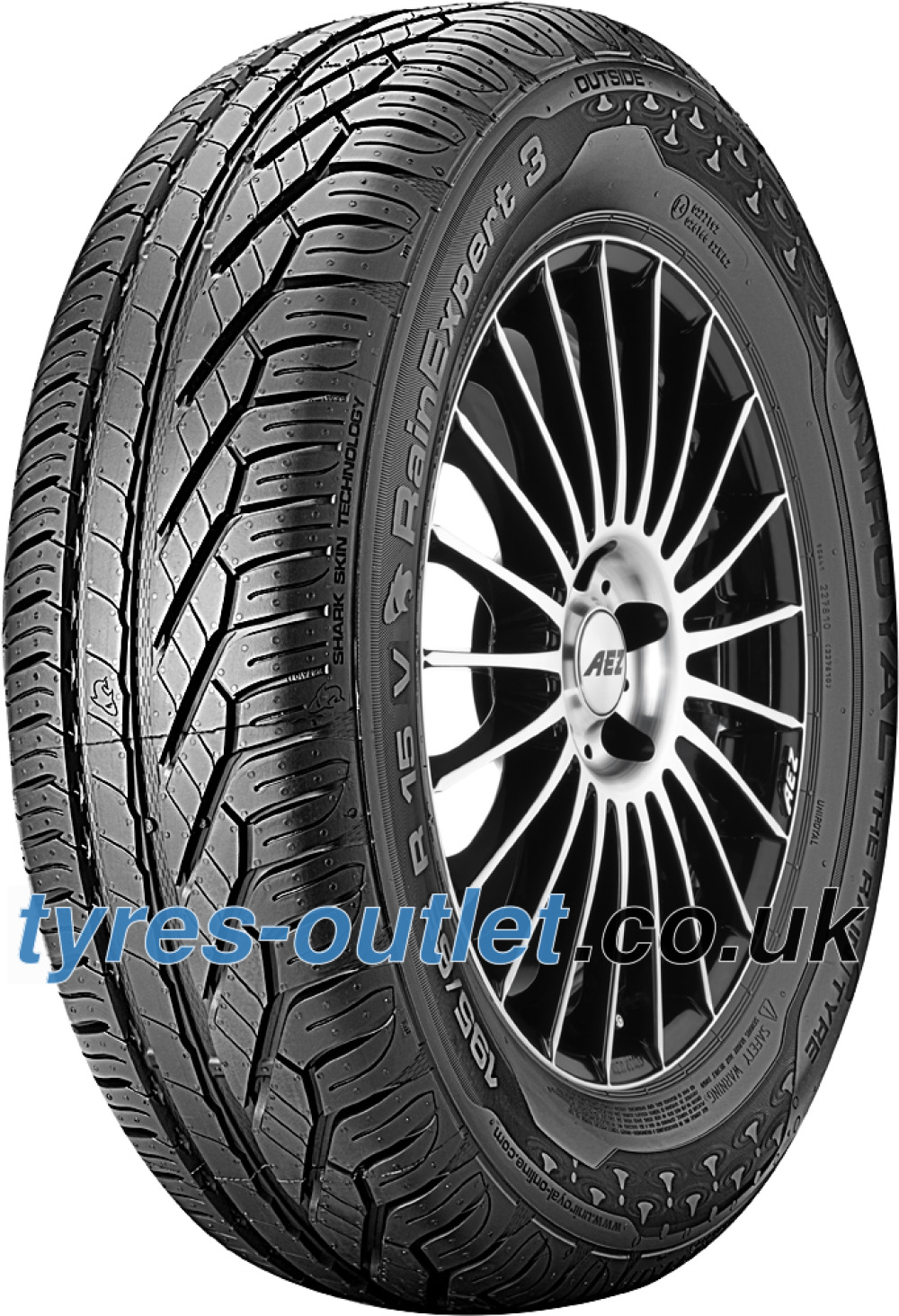 Uniroyal RainExpert 3 ( 215/65 R16 98V with kerbing rib, SUV )
