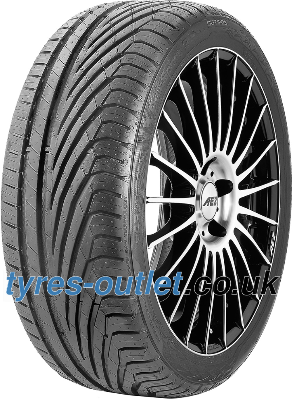 Uniroyal RainSport 3 ( 225/45 R17 94Y XL with kerbing rib )