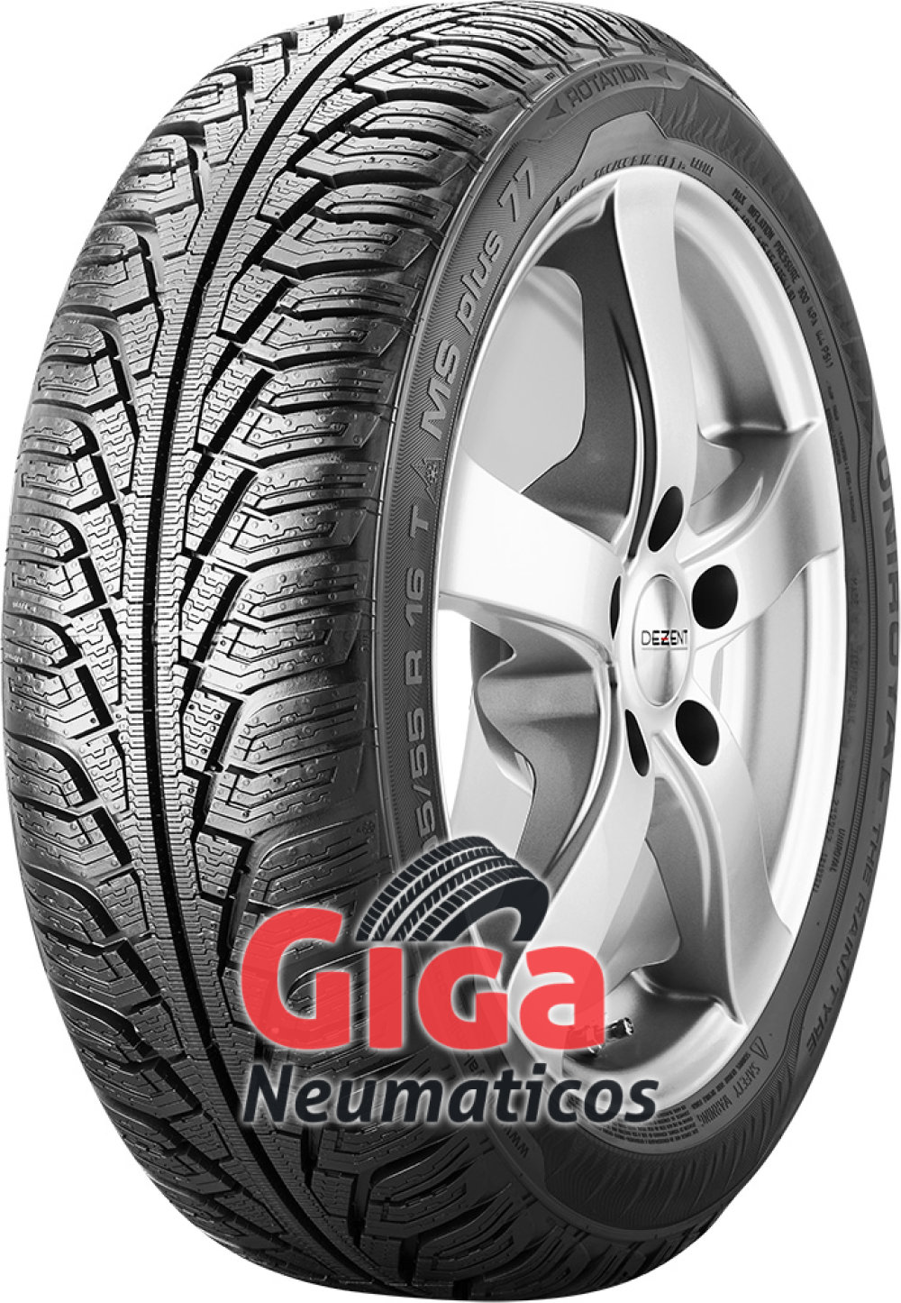 Uniroyal MS Plus 77 ( 195/60 R15 88T )