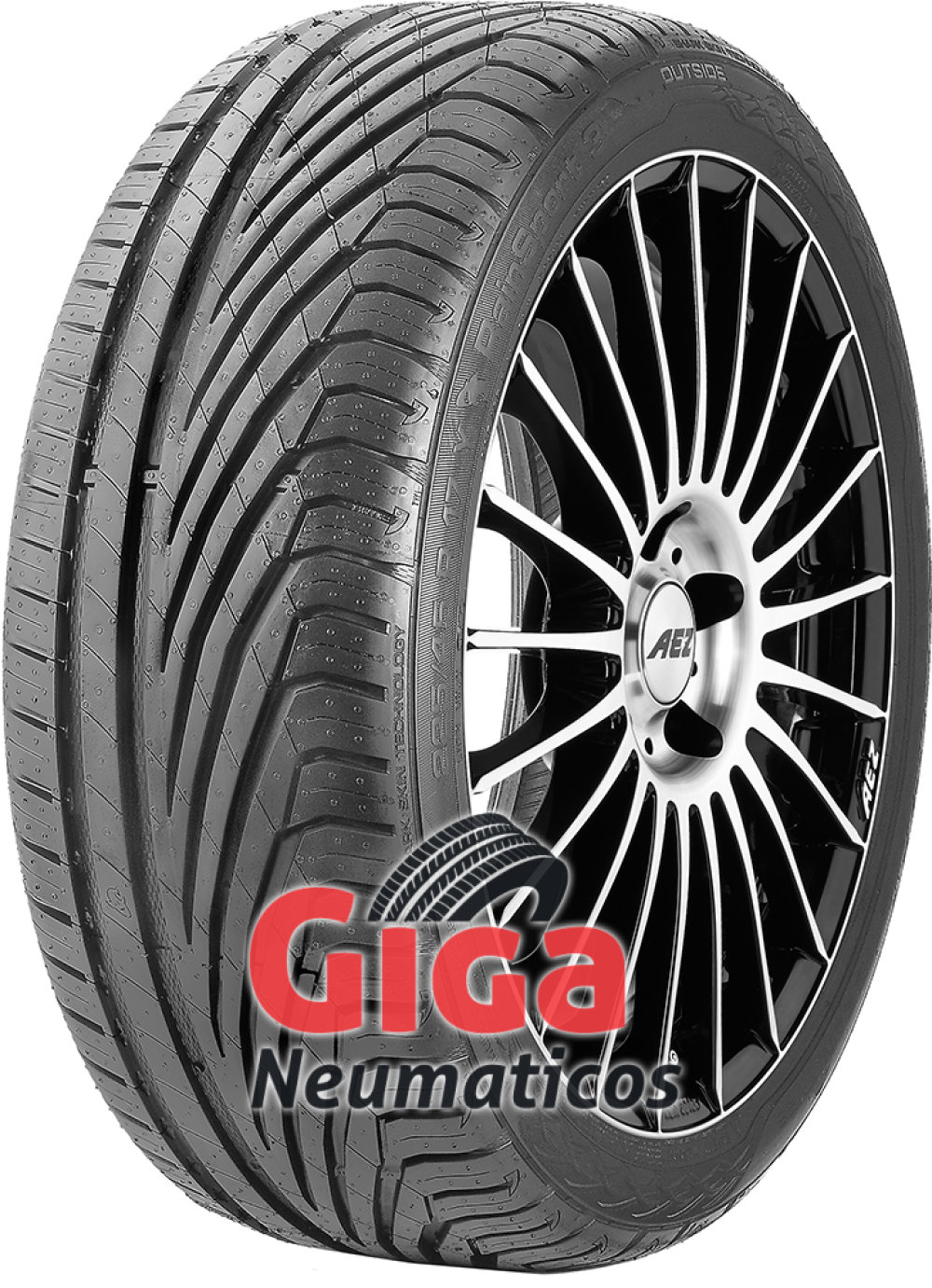 Uniroyal RainSport 3 ( 255/30 R19 91Y XL con protección de llanta lateral )