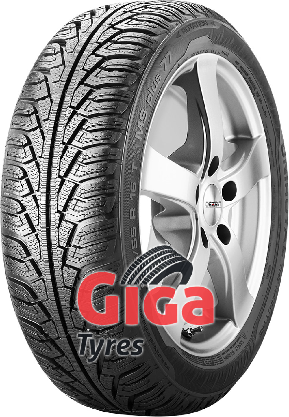 Uniroyal MS Plus 77 ( 195/60 R15 88H )