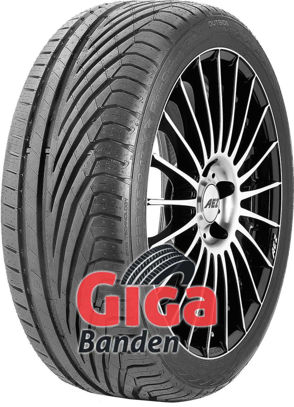 Uniroyal RainSport 3 ( 255/30 R19 91Y XL met velgrandbescherming )