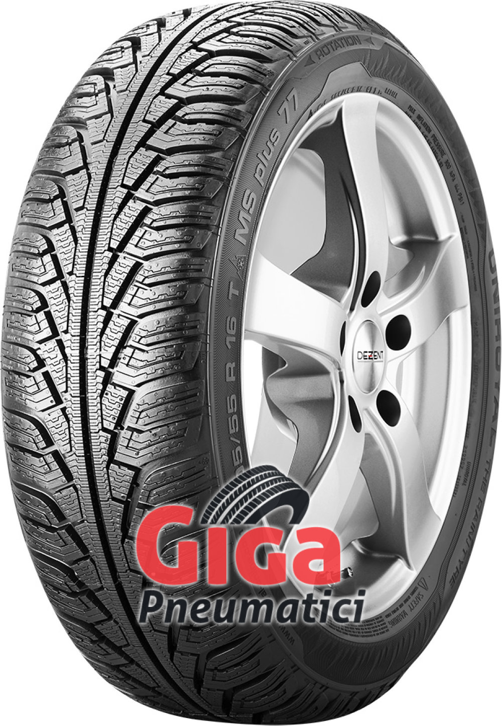 Uniroyal MS PLUS 77 ( 225/50 R17 98V XL , con bordo di protezione )