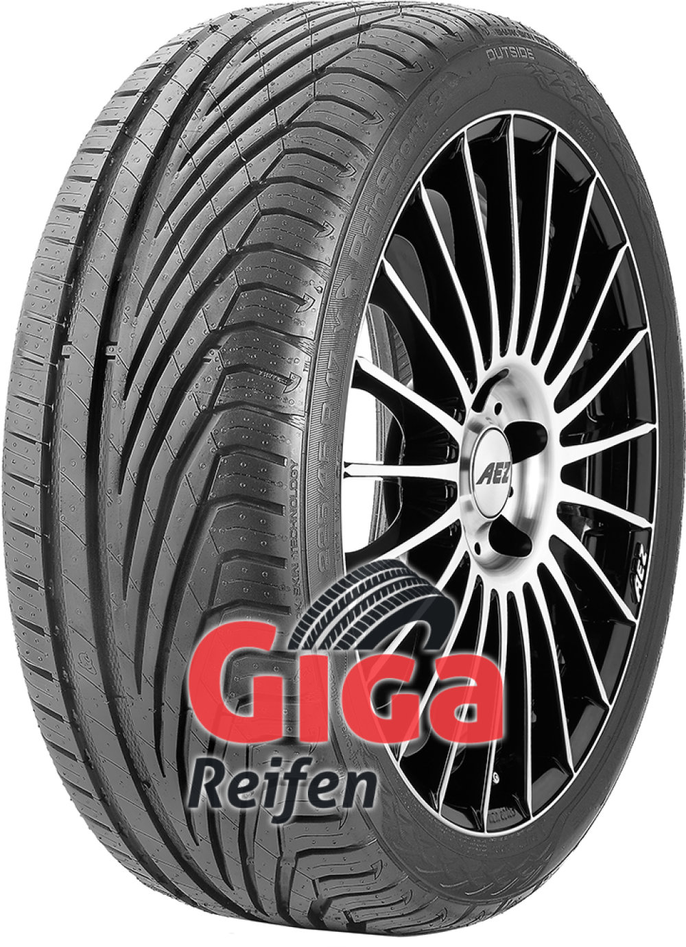 Uniroyal RainSport 3 ( 245/40 R19 98Y XL mit Felgenrippe )