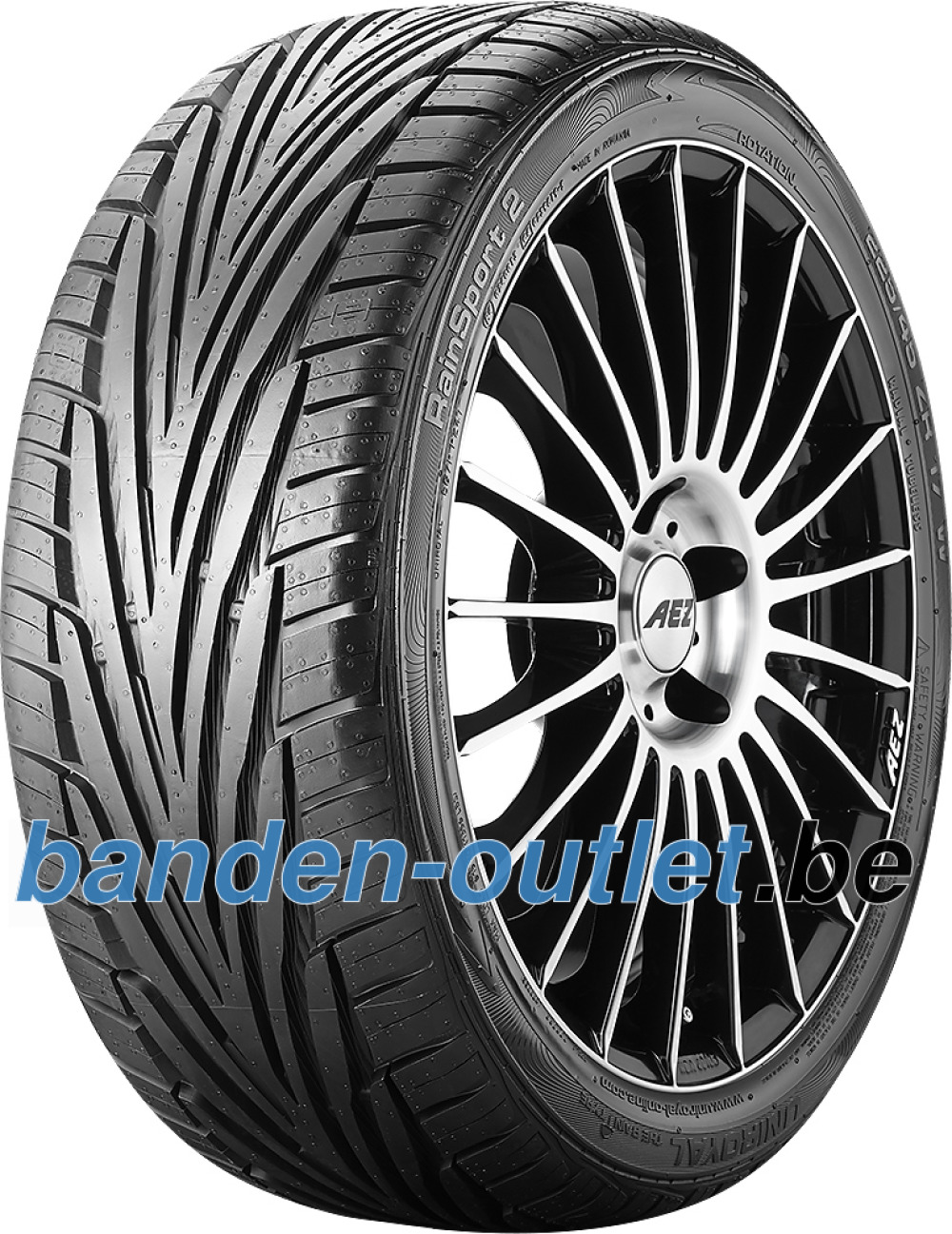 Uniroyal RainSport 2 ( 255/40 ZR17 94W met velgrandbescherming )
