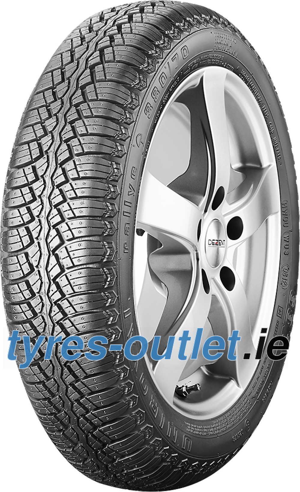 Uniroyal rallye 380 ( 175/80 R13 86T WW 20mm )