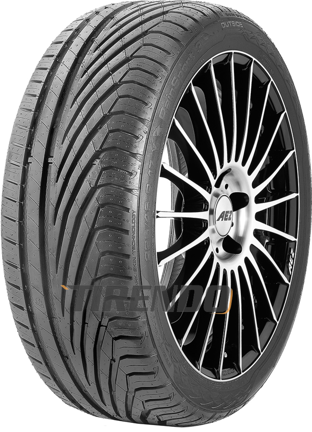 Uniroyal RainSport 3 ( 205/40 R17 84Y XL mit Felgenrippe )