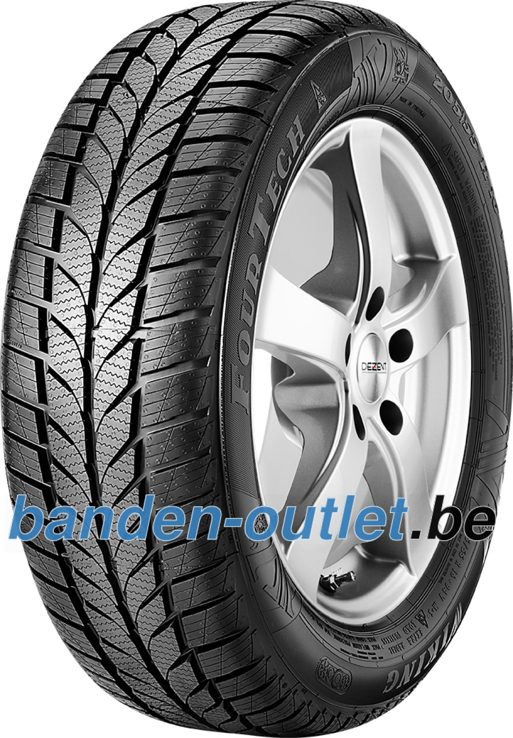 Viking FourTech All Season ( 195/55 R16 87V )
